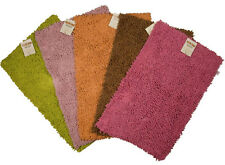 BATH MAT NON SLIP BATHROOM SHAGGY RUGS CARPE ABSORBENT SHAG PILE THICK BATHROOM