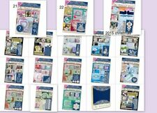 Tattered lace magazine inc free die issue 1,2,3,4,5,6 ,7,8,9,10 ,11,12 & 13
