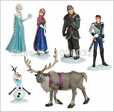 Disney Frozen Figures Christmas Xmas Birthday Cake Decorations Toppers