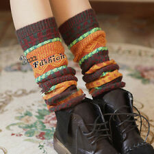 Vogue Ladies Women Girl knited Arthritis rheumatoid Wool Leg Warmers Knee socks
