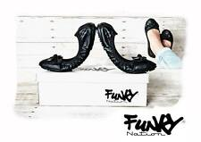 Fold up Black Womens Ballerina Ballet Dolly Ladies Pumps Flat Shoes