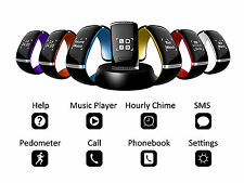 New Smart Wrist Watch Phone Mate Bluetooth For iPhone IOS Android Samsung HTC