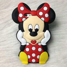 For HUAWEI ASCEND P6 & P7 Soft Silicon Stylish Case Big Bow Minnie Lovely Cover