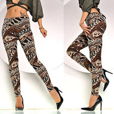 NEW SEXY WOMEN LEOPARD PRINT SKINNY FIT LEGGINGS One SIZE 6 8 10 12 UK S M L