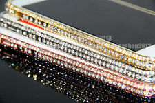 Bling Crown Austria Diamond Crystal Metal Bumper Case Cover For iPhone 5 5S