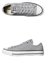 New Converse Women's Womens Chuck Taylor All Star Suede Shoe Rubber Shoes Grey
