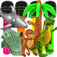 INFLATABLE BLOW UP TOYS MONKEY CROCODILE GUITAR ZIMMER FRAME SHARK PALM TREE