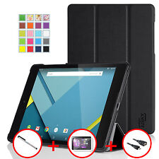 JJSKY Ultra Slim Lightweight Smartshell Stand Case For Google Nexus 9 By HTC