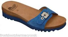 Scholl Sandals Suari  Mules - Blue  - All Sizes - 2014 Range -  BNIB
