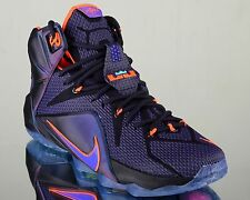 Nike Lebron XII 12 Instinct basketball zoom shoes NEW cave purple hyper grape