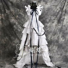 Hot Anime Chobits Chii Cosplay Costume White Dress Free Shipping