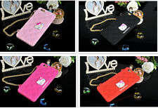 """Hello Kitty Soft Case Cover Skin For Apple iPhone 4/4S 5/5S 6 4.7"""" /6+ Plus 5.5"""""""