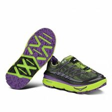 Hoka Mafate 3 Trail Running Shoes Lime/Anthracite/Purple Womens