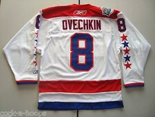 Washington Capitals White #8 OVECHKIN NHL Reebok Winter Classic Jersey NEW