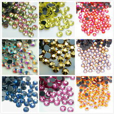 1440pcs 10Gross DMC Iron On Hotfix Flatback Crystal Rhinestones SS10 SS16 SS20