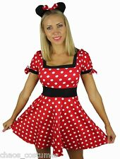 MICKEY MINNIE MINI MOUSE DISNEY FAIRY TALE FANCY DRESS HALLOWEEN COSTUME