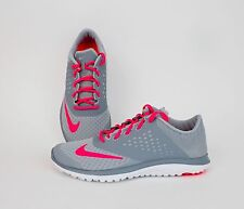 Nike Womens FS Lite Run 2 Magnet Grey, Hyper Punch 684667-003 SALE