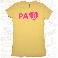 JUSTIN BIEBER Tour US State Love Juniors PA Pennsylvania T-Shirt