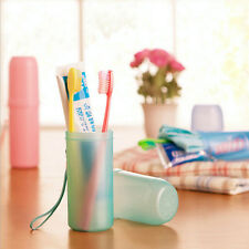 Tooth Mug Toothbrush Holder Lover Toothpaste Cup Bathroom Travel Accessories