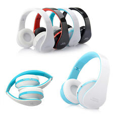 Foldable Stereo Bluetooth Wireless Headphone Headset for iPhone Samsung LG HTC