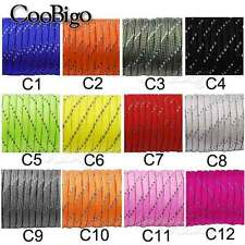 Reflective Paracord 550 Parachute 7 Core 100FT For Climbing Camping Buckle Rope