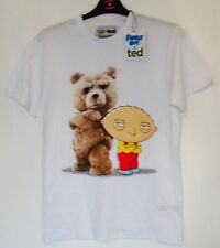 TED & FAMILY GUY STEWIE Mens Licensed Primark T Shirt Various Sizes