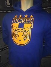 Tigres UANL Sudadera Mexico Soccer Gear 2014 Hooded sweat Adult S M L XL XXL