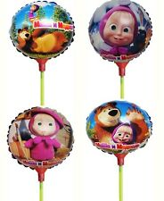 Masha and the Bear Balloon with Stick