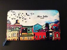 GIFT BOX NEW LARGE QUALITY SOFT REAL LEATHER LADIES MISS JOLIE PURSE