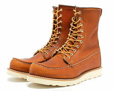 RED WING BOOTS 8-INCH BOOT STYLE 877 ORO LEGACY MADE IN THE USA