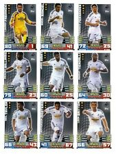 Match Attax 2014/15 Trading Cards (Swansea City-Base) 290-306