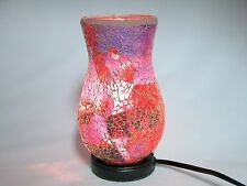 Mosaic Glass table lamp, Vase Shaped