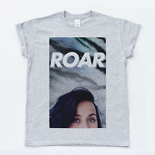 Roar Katy Perry New Prism Music T-shirt Dope Swag 2013 Album Hype Unisex Tee