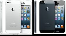 Apple iPhone 5 (GSM Factory Unlocked 64GB) AT&T T-Mobile White & Black (B)