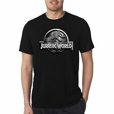 NEW Jurassic World Logo T-Shirt Jurassic Park Logo Tees Adult and kid size S-3XL
