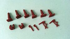 MEHANO H0 Scale SPARE PARTS - plastic details for European trains