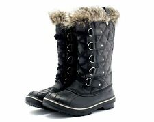 SOREL BOOTS TOFINO  WOMEN BLACK WATERPROOF  STYLE 1472591011