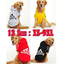 Plus Size Pet Puppy Dog Cat Winter Warm Coat Clothes Hoodie Sweater Costumes New