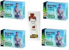 ISRAEL 125 gr BODY AND FACIAL DEAD SEA MINERALS MUD SOAP (DSM) TRAVEL MUD MASK
