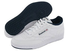REEBOK CLUB C 1330 WHITE NAVY MEN SHOES SNEAKERS