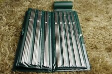"""Hot! New 4*11pcs 10"""" 13.5'' Stainless Double Pointed Knitting Needles in case"""