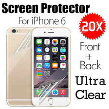 AU Apple Ultra Clear Flim For iPhone 6 6S Screen Protector Front and Back 4.7''