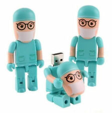New Year GiftS Funny Folding Doctor USB 2.0 Memory Stick Flash pen Drive 8GB