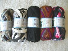 ICE RUFFLE & FRILL SCARF YARN COLOR CHOICES Multi color skeins