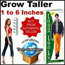 Long Looks Herbal Increase Height Gain Taller Herbal Growth Capsules (Unisex)..