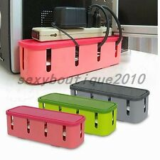 Home Organisation Plug Socket Anti-dust Storage Box Cable Wire Cord Organizer