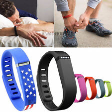 Replacement Small LARGE Smart Wristband Wrist Band Clasp Fr Fitbit Flex Bracelet