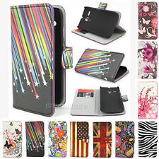 New Deluxe Stand Wallet Leather Flip Magnetic Case Cover For LG Many Models