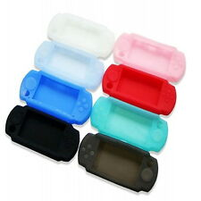 Mix Silicone Protect Rubber Skin Grip Cover Soft Case for SONY PSP 3000 2000
