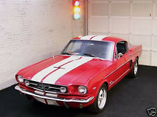 """Early 1964 1965 67 68 69 70 Mustang 10"""" Plain Rally stripes Stripe Graphics Set"""